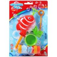 Simba Bubble Fun Seifenblasen Fisch - Rot