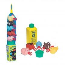 Pustefix Bubbelix Farmwelt + 250 ml Seifenblasenflüssigkeit