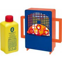 Pustefix Kurbelix Seifenblasen-Maschine + 250 ml Flüssigkeit